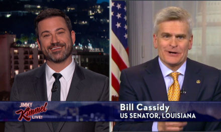 """Jimmy Kimmel Returns With Plea for """"Common Sense"""" in Health-Care Debate"""